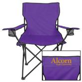 Deluxe Purple Captains Chair-Alcorn State University