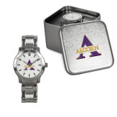 Ladies Stainless Steel Fashion Watch-Alcorn A