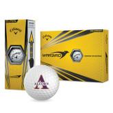 Alcorn Callaway Warbird Golf Balls 12/pkg-Alcorn Official Logo