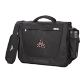 High Sierra Black Upload Business Compu Case-Alcorn Official Logo