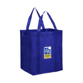 Non Woven Royal Grocery Tote-Edu Mark