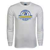 White Long Sleeve T Shirt-2016 A.I.I. NAIA Tournament Champions Womens Basketball