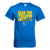 Royal T Shirt-Fear the Yellow Jackets