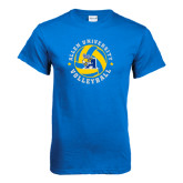 Royal T Shirt-Logo in Volleyball