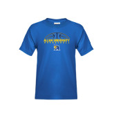 Youth Royal T Shirt-Top Basketball