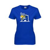Ladies Royal T Shirt-A Logo