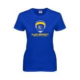 Ladies Royal T Shirt-Wrestling