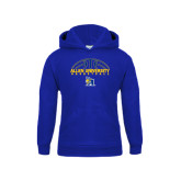 Youth Royal Fleece Hoodie-Top Basketball