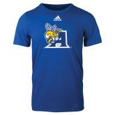 Adidas Royal Logo T Shirt-A Logo