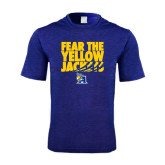 Performance Royal Heather Contender Tee-Fear the Yellow Jackets