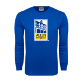 Royal Long Sleeve T Shirt-Edu Mark