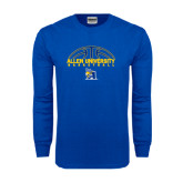 Royal Long Sleeve T Shirt-Top Basketball