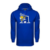 Under Armour Royal Performance Sweats Team Hoodie-A Logo