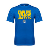 Performance Royal Tee-Fear the Yellow Jackets