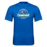 Performance Royal Tee-2016 A.I.I. NAIA Tournament Champions Womens Basketball