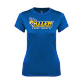 Ladies Syntrel Performance Royal Tee-Cross Country