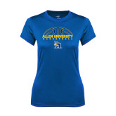 Ladies Syntrel Performance Royal Tee-Top Basketball