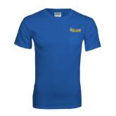 Royal T Shirt w/Pocket-Official Logo