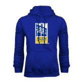 Royal Fleece Hoodie-Edu Mark
