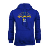 Royal Fleece Hoodie-Top Basketball