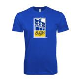 Next Level SoftStyle Royal T Shirt-Edu Mark