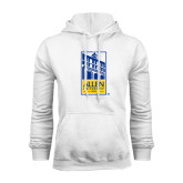 White Fleece Hoodie-Edu Mark