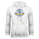 White Fleece Hoodie-2016 A.I.I. NAIA Tournament Champions Womens Basketball