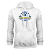 White Fleece Hoodie-2016 A.I.I. NAIA Tournament Champions Womens Basketball