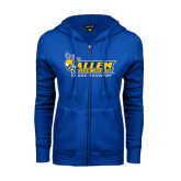 ENZA Ladies Royal Fleece Full Zip Hoodie-Cross Country