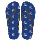Full Color Flip Flops-A Logo