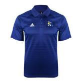 Adidas Climalite Royal Jaquard Select Polo-A Logo