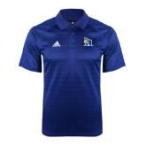 Adidas Climalite Royal Jaquard Select Polo-A Logo