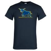 Navy T Shirt-Ox Body