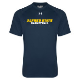 Under Armour Navy Tech Tee-Basketball