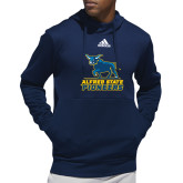 Adidas Navy Team Issue Hoodie-Primary Mark - Athletics