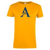Ladies Gold T Shirt-A