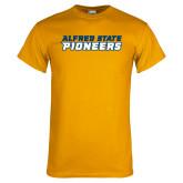 Gold T Shirt-Word Mark