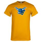 Gold T Shirt-Ox Head