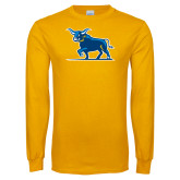 Gold Long Sleeve T Shirt-Ox Body