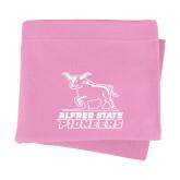 Pink Sweatshirt Blanket-Primary Mark - Athletics