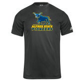 Russell Core Performance Charcoal Tee-Primary Mark - Athletics