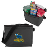 Six Pack Grey Cooler-Primary Mark - Athletics