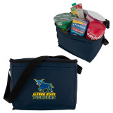 Six Pack Navy Cooler-Primary Mark - Athletics