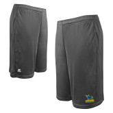 Russell Performance Charcoal 10 Inch Short w/Pockets-Primary Mark - Athletics