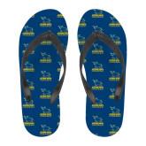 Full Color Flip Flops-Primary Mark - Athletics