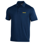 Under Armour Navy Performance Polo-Word Mark