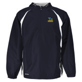 Holloway Hurricane Navy/White Pullover-Primary Mark - Athletics