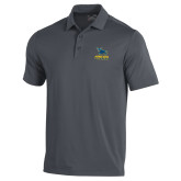 Under Armour Graphite Performance Polo-Primary Mark - Athletics