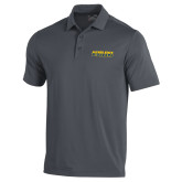 Under Armour Graphite Performance Polo-Word Mark