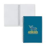 Clear 7 x 10 Spiral Journal Notebook-Primary Mark - Athletics